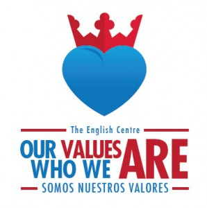 Logo Our Values Are Who We Are
